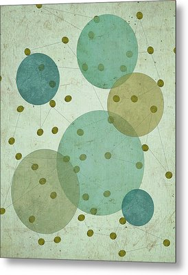 Planets IIi Metal Print by Shanni Welsh