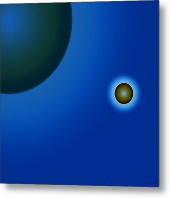Planets Of Mercy Metal Print by Sir Josef - Social Critic - ART