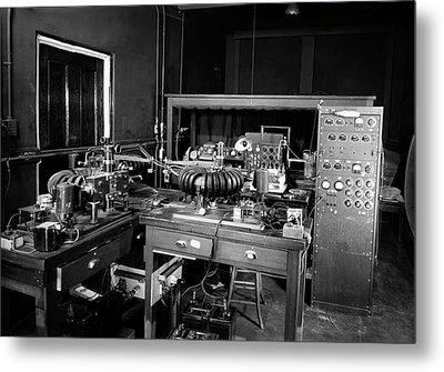 Plant Physiology Laboratory Equipment Metal Print by American Philosophical Society
