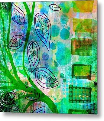 plant The Seeds #ipadart #art Metal Print by Robin Mead