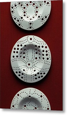 Plastic Drain Traps Metal Print