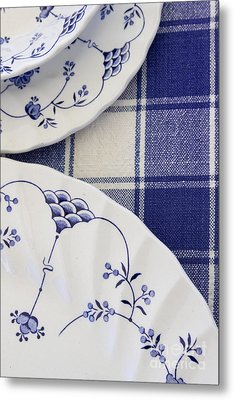 Plates And Platters Metal Print