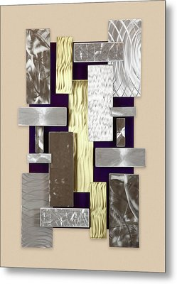 Plates Metal Print by Rick Roth