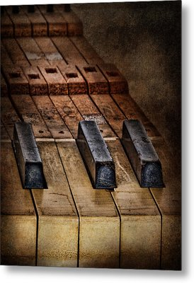 Play Me An Old Hymn Metal Print by David and Carol Kelly