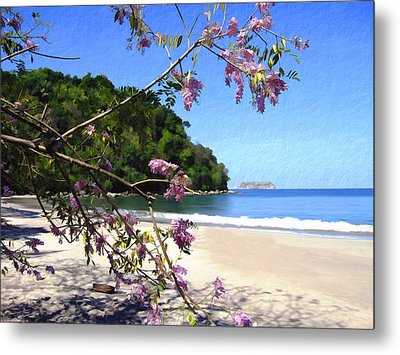 Playa Espadillia Sur Manuel Antonio National Park Costa Rica Metal Print by Kurt Van Wagner