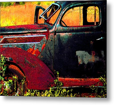 Metal Print featuring the photograph Played Out by Christopher McKenzie