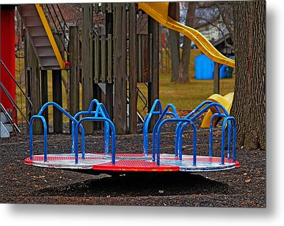 Metal Print featuring the photograph Playground by Rowana Ray