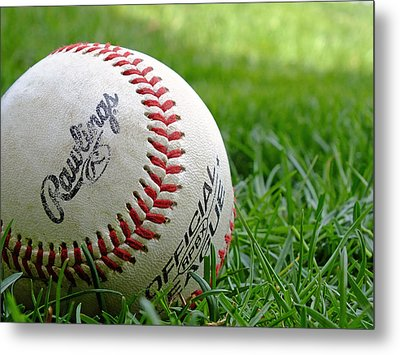 Playing Ball Metal Print by Andy McAfee