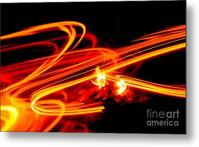 Playing With Fire 4 Metal Print