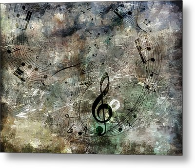 Playing Your Song Metal Print by Angelina Vick
