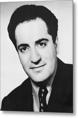 Playwright William Saroyan Metal Print by Underwood Archives