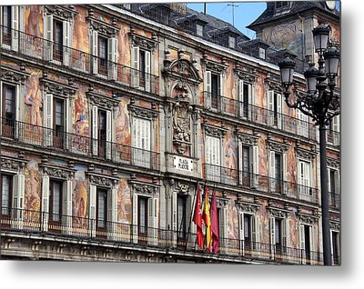 Plaza Mayor Metal Print