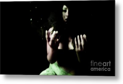 Metal Print featuring the photograph Pleading by Jessica Shelton