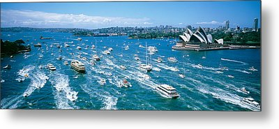 Pleasure Boats, Sydney Harbor, Australia Metal Print
