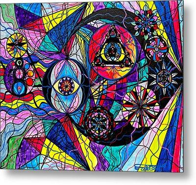 Pleiades Metal Print by Teal Eye  Print Store
