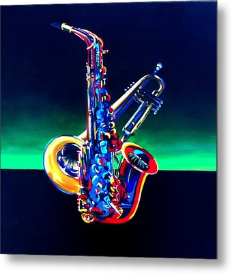 Plenty-of-horn Metal Print by Beth Smith