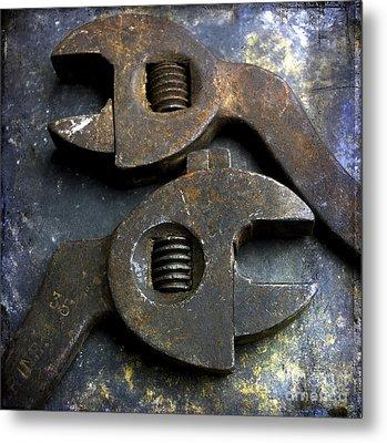 Pliers Metal Print by Bernard Jaubert