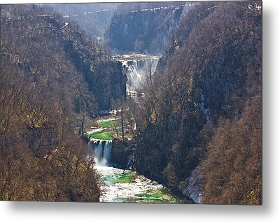 Plitvice Lakes National Park Canyon Metal Print