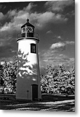 Plum Island Light 01 Metal Print