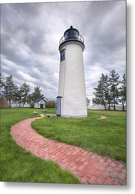 Plum Island Lighthouse Metal Print by Eric Gendron