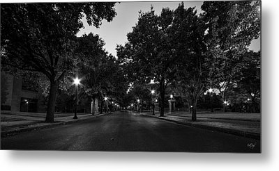 Plum Street To Franklin Square Metal Print by Everet Regal