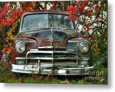Plymouth Metal Print by Alana Ranney