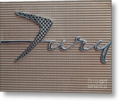 Plymouth Fury Logo 2 Metal Print