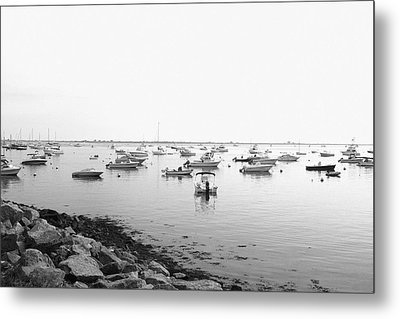 Metal Print featuring the photograph Plymouth Harbor by John Hoey