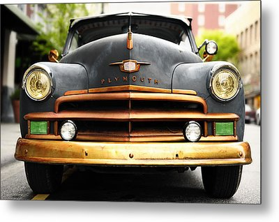 Plymouth Metal Print by Joe Longobardi