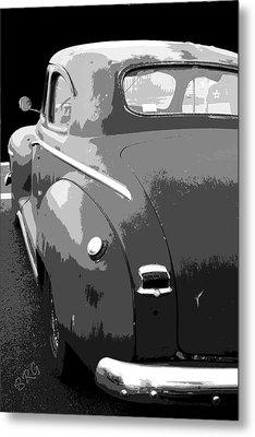 Plymouth The Car Metal Print by Ben and Raisa Gertsberg