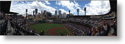 Pnc Park Metal Print by Shelley Johnsen