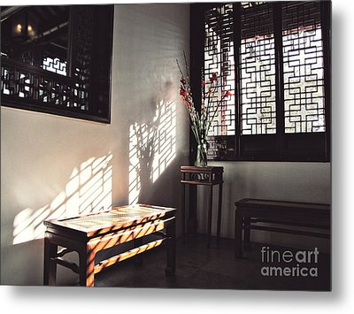 Poetic Reflection Metal Print by Cendrine Marrouat