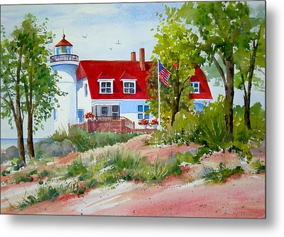 Point Betsie Metal Print