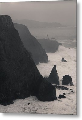 Metal Print featuring the photograph Point Bonita Lighthouse by Scott Rackers