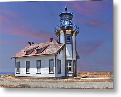 Point Cabrillo  Metal Print by Kandy Hurley