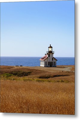 Point Cabrillo Light House Metal Print by Abram House