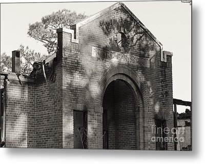 Point Clear School Metal Print by Russell Christie