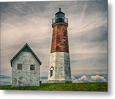 Point Judith Metal Print by Fred LeBlanc