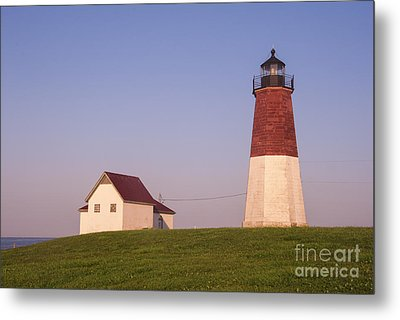 Point Judith Lighthouse Metal Print