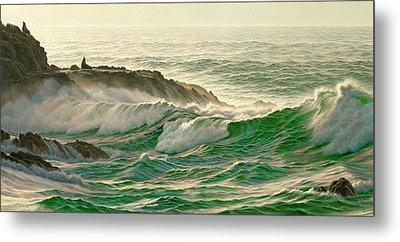 Point Lobos Surf Metal Print by Paul Krapf