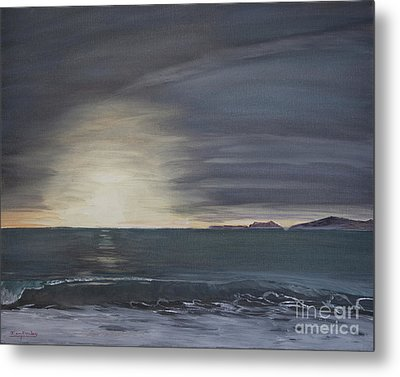 Point Mugu Sunset Metal Print