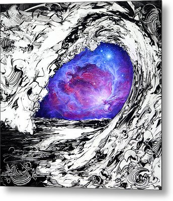 Point Of View Metal Print by Susan Card