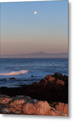 Metal Print featuring the photograph Point Pinos At Dusk by Scott Rackers
