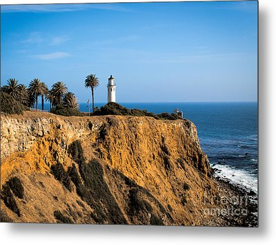 Point Vicente Lighthouse Metal Print by Eleanor Abramson