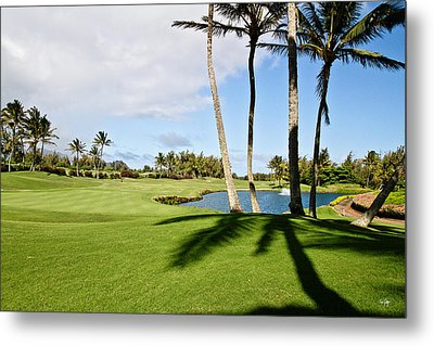 Poipu Bay #18 Metal Print by Scott Pellegrin