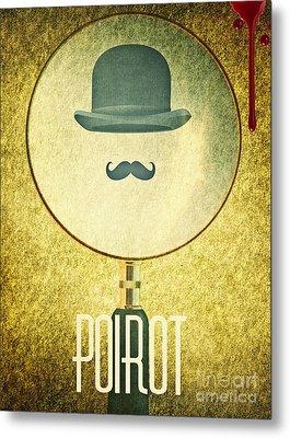 Poirot Metal Print
