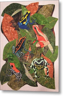Poison Dart Frogs #2 Metal Print by Lynda K Boardman
