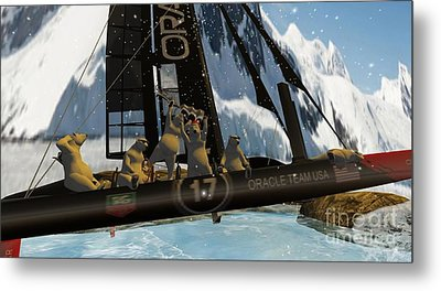 Polar Cup  Metal Print by John Mangino
