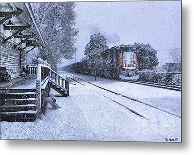 Polar Express Metal Print