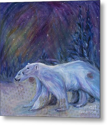 Polaris Metal Print by Angie Bray-Widner